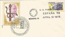 INTERPHIL 76 - ESPAÑA 75 Spain US postal service (1)