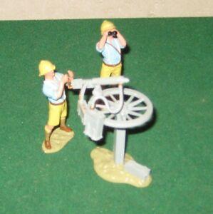 Britains 8917 Vickers Machine Gun With 2 M.G.C. Gunners