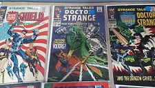 from Avengers Comic lot STRANGE TALES 125 151 152 155 156 158 161 163 166 167