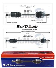 For Geo Storm Isuzu Impulse FWD 90-93 Pair of Front CV Axle Shafts SurTrack Set