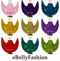 Cotton Skirt maxi 360 Full Circle Long Belly Dane  Tribal Costum jupe 30 color