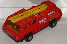 ORIGINAL Matchbox Superfast - Blaze Buster - No 22 - Red color and Yellow Ladder