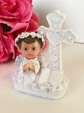 1-Cake Topper Decorations Baptism Communion Angel Keepsakes Bautiso Christening