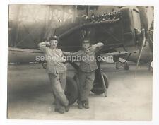 Photo Avion WESTLAND AIRCO DH.4 vers 1917 - Tirage Argentique d'époque - 23x29cm