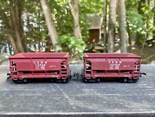 Ho Scale Pair Of C&NW Iron Ore Rail Cars