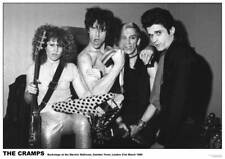 """The Cramps LIVE IN LONDON 23.5"""" x 33"""" Psychobilly LUX INTERIOR Poison Ivy POSTER"""