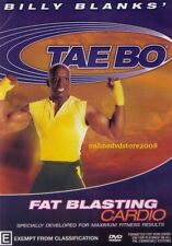 BILLY BLANKS - TAE BO - FAT BLASTING CARDIO Health Fitness Exercise Workout DVD