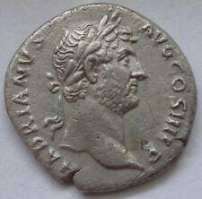 """Hadrian. AD 117-138. AR Denarius """"Travel series"""" issue. Rome mint.      1713"""