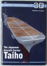 The Japanese Aircraft Carrier TAIHO - Super Drawings in 3D - Kagero ENGLISH