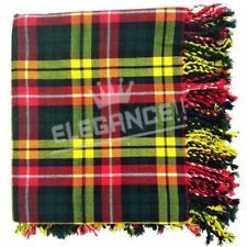 "Men's Kilt Fly Plaid Buchanan Tartan / Kilt Fly Plaid 48""X 48"""
