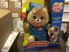 Teddy Ruxpin Hug 'N Sing Lullaby Plush Bear .