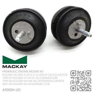 MACKAY ENGINE MOUNT SET V8 LS1 & LS2 MOTOR [HOLDEN WH-WK-WL STATESMAN/CAPRICE]