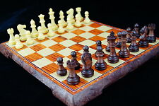 Chess, 10.5 inch foldable chessboard, chess pieces