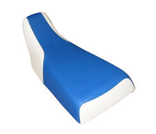 Honda TRX 250R Blue White ATV Seat Cover MGFY204