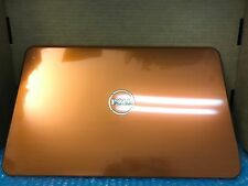 USED Genuine Dell Inspiron 15R N5110 Orange Switchable LCD Cover P/N: CM4C0