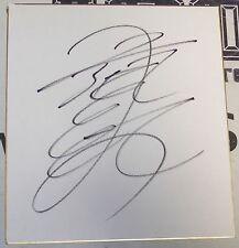 Ryuki Ueyama Signed Shikishi Art Board PSA/DNA COA Pride FC Rings Deep Autograph