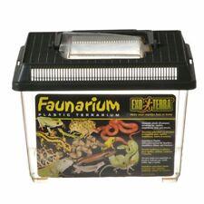 """LM Exo-Terra Faunarium Plastic Terrarium Small - (9""""L x 6""""W x 6.5""""H)"""
