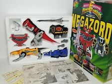Vintage 1993 MMRP Mighty Morphin Power Rangers Megazord Deluxe Set Box Complete