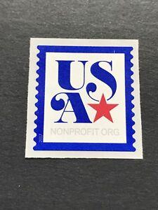 US Stamp Scott#5172 Blue Outline USA-Star, Non-Profit 2017 MNH S/A coil
