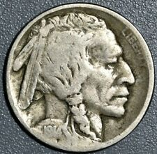 1914-D 5c BUFFALO NICKEL, GRADE G+/VG, SKU-107