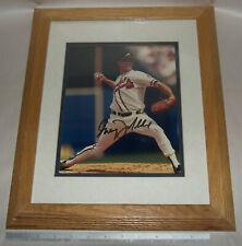 New listing Original Matted & Framed Atlanta Braves Greg Maddux Signed Photo HOF