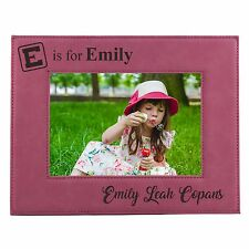 Personalized 5 x 7 Kids Picture Frame for Boys or Girls - Custom Children's Gift