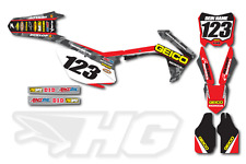MOTOCROSS DECORO GEICO HONDA CRF 250 - 450 2010 - 2017 Factory Graphics
