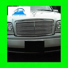 1994-2000 MERCEDES W202 C CLASS CHROME GRILLE TRIM 94 95 96 97 98 99 00