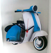Scooter Wall Clock, 60s Mod Wall Clock, Classic Vintage SII Scooter Wall Clock