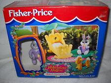#4032 Nrfb Vintage Fisher Price Hideawa 00004000 y Hollow Bunny Baby's Nursery Set