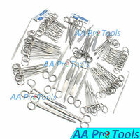 AA Pro: 126 Pcs Canine+Feline Spay Pack Veterinary Surgical Instruments DS-1084