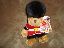 """2005 Keel Toy Changing of the Guard Guardsman Teddy Bear 9"""" Plush W/Tags"""