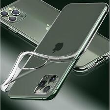 Hülle für iPhone 11 / 12 Serie Handyhülle Cover Transparent Klar Ultra Slim TPU