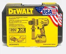 """DeWalt DCD996B 20V MAX XR 1/2"""" Brushless 3-Speed Hammer Drill Kit DCD996P2"""