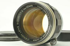 【 EXC+4 *TESTED 】 Canon 50mm f/1.4 MF Lens LTM L39 Leica Screw Mount from JAPAN