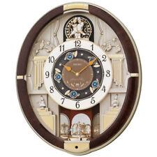 Seiko Wall Clock Analog 12 Melodies in Motion Modern Home Décor 45.5x38.4x10.1cm