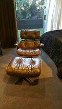 Authentic Vintage Rosewood, Herman Miller Eames Lounge Chair And Ottoman,
