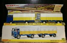 Vintage Dinky Mercedes Benz Truck and Trailer Boxed  No 917