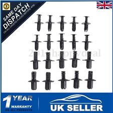 20x 6 8mm Plastic Rivet Bike Fairing Trim Clips For Honda Yamaha Suzuki Kawasaki