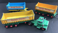 Lesney Matchbox  Super Kings DODGE TRUCKS and TIPPER TRAILERS For Repairs K16