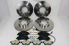 Original Brake Discs + Brake Pads Front+Rear Ford Transit 59991111