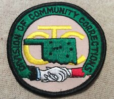 OK Oklahoma Division of Community Corrections Patch