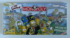 NEW Monopoly: The Simpsons Edition with 6 Pewter Tokens FACTORY SEALED IN BOX