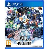 WORLD OF FINAL FANTASY PS4 NUEVO PRECINTADO EN ESPAÑOL CASTELLANO PS4