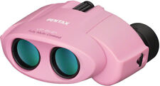 Pentax UP 8x21 Binoculars Pink Knife 61803 Porro Prism. Center focus. Measures 3