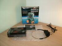 SAISHO PS16 CASSETTE PLAYER  MW/FM RADIO & CASSETTE PLAYER WALKMAN BOXED RARE