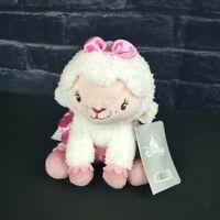 "Disney Store Doc McStuffins Lambie Plush 7"" Lamb Sheep Pink Tutu Tags"