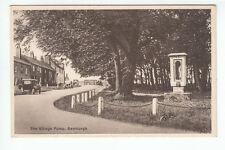 The Village Pump Bamburgh Northumberland c1920's Old Postcard Postally Unused