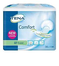 Tena Comfort Super Pads - Pack of 36 - 2 Pack