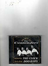 PHILLY BLUE EYED SOUL/DOOWOP-CD-CONTENDERS-BEST OF-22 HOT TRACKS!-THE CLOCK